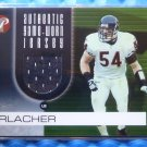 2003 Topps Pristine Performance BRIAN URLACHER Game Worn Jersey Patch #PP-BU