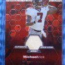 2003 Topps Finest MICHAEL MIKE VICK Game Worn Jersey Patch Card Philly Eagles