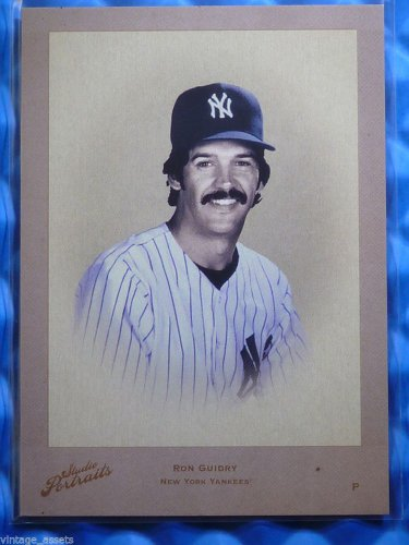2005 Studio Portraits RON GUIDRY Leather Lumber Sepia #SP-49 #30/30 RARE 1/1