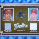 2005 Diamond Kings SCOTT ROLEN Timeline Dual Jersey Patch #T-15 #21/100