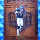 2003 Hogg Heaven ANDRE JOHNSON Rookie Hoggs RC #RCH-12 Texans Miami
