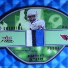 2003 Fleer Focus EMMITT SMITH Emerald 3 Color Jersey Patch #EF-ES #70/75 Die Cut