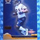 2001 Vanguard LADAINIAN TOMLINSON Rookie Card RC #141 #32/115 Chargers TCU