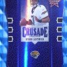 2005 Leaf Rookies & Stars BYRON LEFTWICH Crusade Purple #16/50 Rare