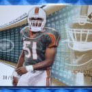 2004 SP Game Used Edition JONATHAN VILMA Rookie Card RC #116 #38/50 Saints