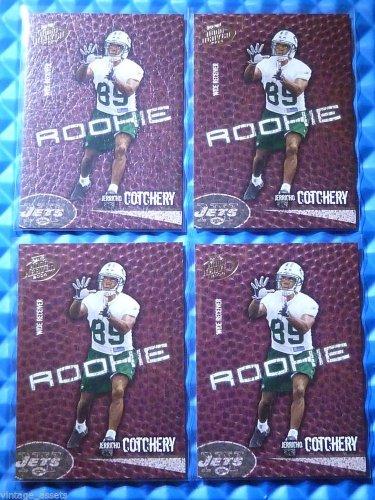 4- 2004 Hogg Heaven JERRICHO COTCHERY Rookie Card RC Lot #126 #/750