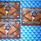 3- 2004 Hogg Heaven STEVEN JACKSON Rookie Hoggs Card RC Lot #RH-22 #/750 Falcons
