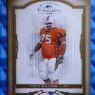 2004 Donruss Classics VINCE WILFORK Rookie Card RC #219 #502/925 Patriots