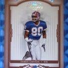 2004 Donruss Classics JAMES LOFTON Timeless Tributes Red #096/100 #120 Bills