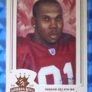 2003 Gridiron Kings ANQUAN BOLDIN Rookie Card RC Bronze Frame #128 49ers