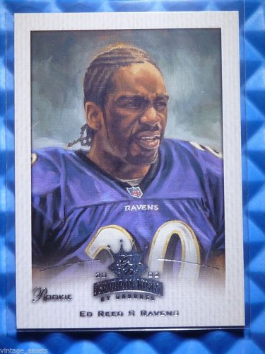 2002 Gridiron Kings ED REED Rookie Card RC Crowning Moment #148 Portrait