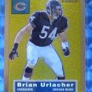 2001 Topps Heritage Chrome BRIAN URLACHER Retrofractor #15 #529/556 Bears RARE