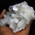 AWESOME APOPHYLLITE AND STILBITE MINERALS COLLECTIBLES SPECIMENS INDIA PIECE