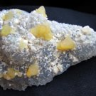 AMAZING CALCITE AND MM QUARTZ MINERALS CLUSTER FORMATION DOG-TOOTH SPECIMENS