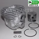 """STIHL TS410 TS420 PREMIUM CYLINDER AND PISTON """"now with bonus set of rings"""" 50mm"""