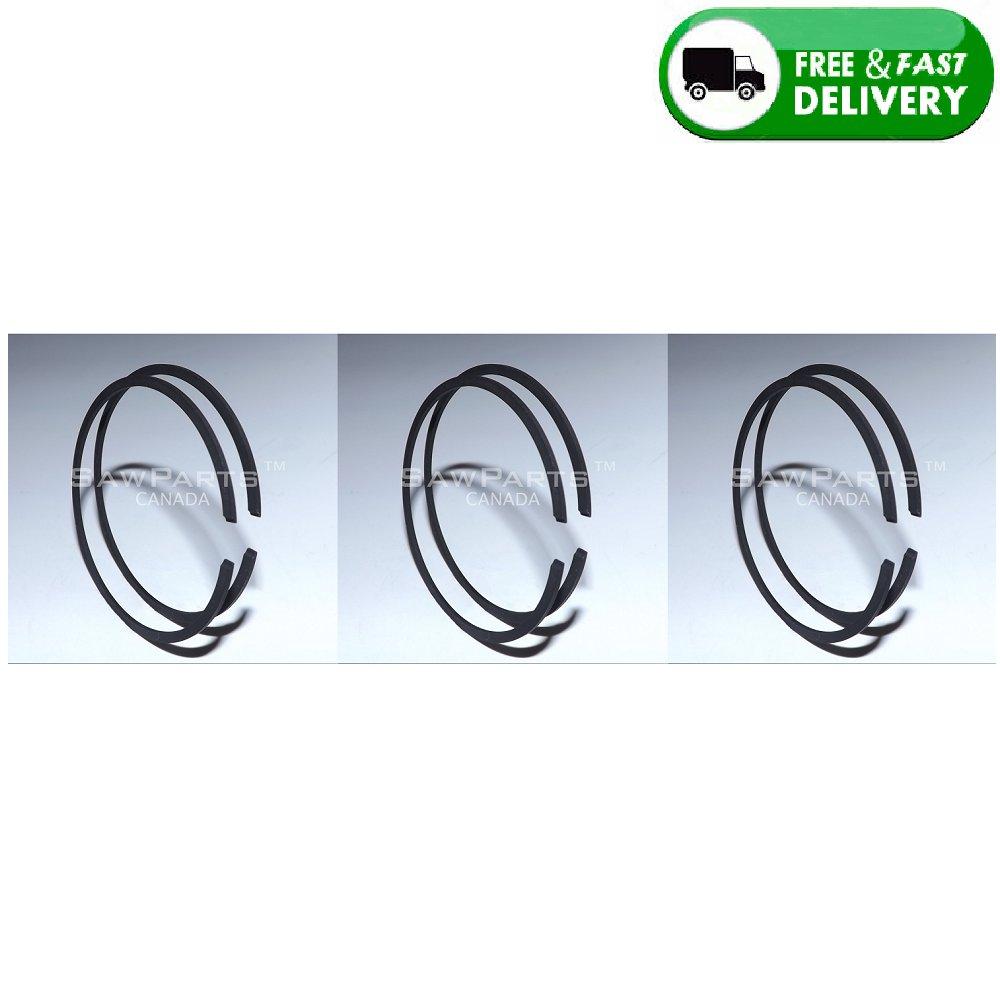 PISTON RINGS 60x1.5mm SET of 3 (6 rings total) HUSQVARNA PARTNER K1250 K1260