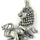 Leo lion lead free pewter charm lot 25 pieces