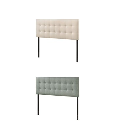 Emily Tufted Headboard - Full Size | 2 Colors