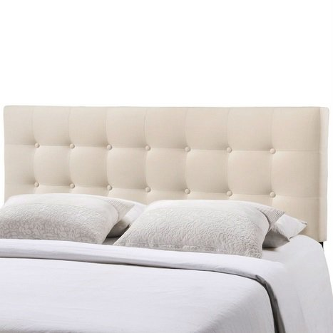 Emily Tufted Headboard - Queen Size | 2 Colors