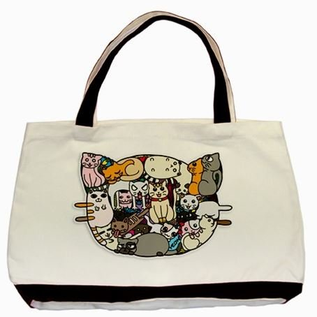 Bag of Cats (Minus Cats) Tote Bag