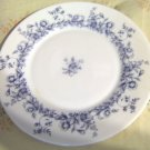 "Arcopal Glenwood Salad Plate 7.75"" White and Blue Floral - Discontinued"