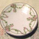 """Arbutus Pink Flower Garland Pattern Bavaria 3 3/8"""" miniature plate"""