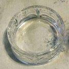 Vintage Pressed Glass Trinket Nut Candy Dish w/Foliage Pattern