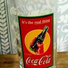 "Coca-Cola ""It's The Real Thing"" Collectible Glass, 6.25"" high"