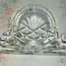 Godinger Heavy Lead Crystal Trinket/Paperweight/Candleholder