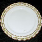 One Haviland France Limoges Bread & Butter Plate, Gold Trim, Ring Tiny Flowers
