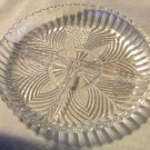 "Vintage Indiana Glass ""Enchantment"" 3 pt Relish Dish with Burst Pattern"
