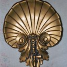 Gold Art Deco Style Shell Decorative Wall Hanging