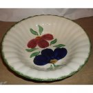 Vintage Hand Painted Serving Bowl from Southern Potteries