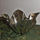 Godinger Silver Plate Pierced Candle Holder