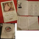 Antique Singer Sewing Machine Books & Pamplet circa 1900