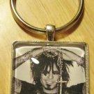 Handmade Nikki Sixx Keychain