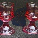Cranberry Fenton Glass Cordials