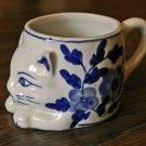 Porcelain Cat Tea Cup