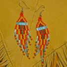 Montana made Beaded Earrings #30