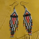 Montana made Beaded Earrings #27
