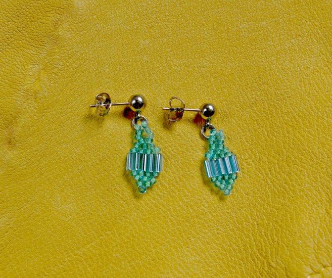 Montana made Beaded Earrings #67