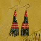 Montana Made Beaded Earrings #34-T