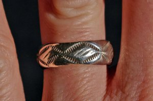 Sterling Silver Navajo made Ring