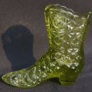 Green Daisy and Button Fenton Boot