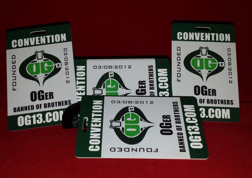 OG13.com - High Quality Convention Cards / Passes!