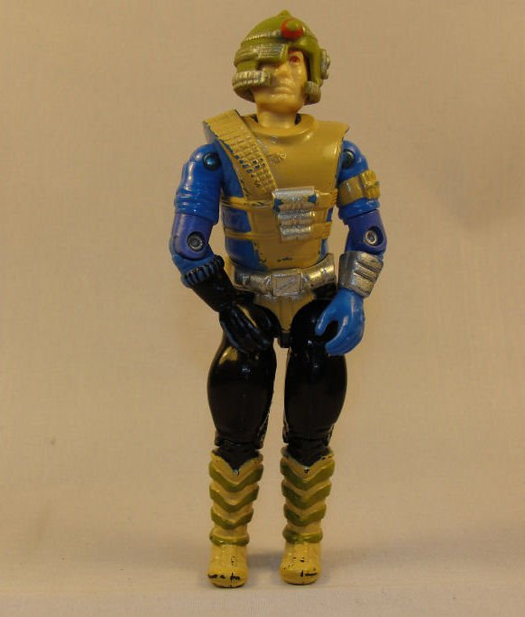 G.I. Joe - Knockdown - 1987 ARAH, Vintage Action Figure