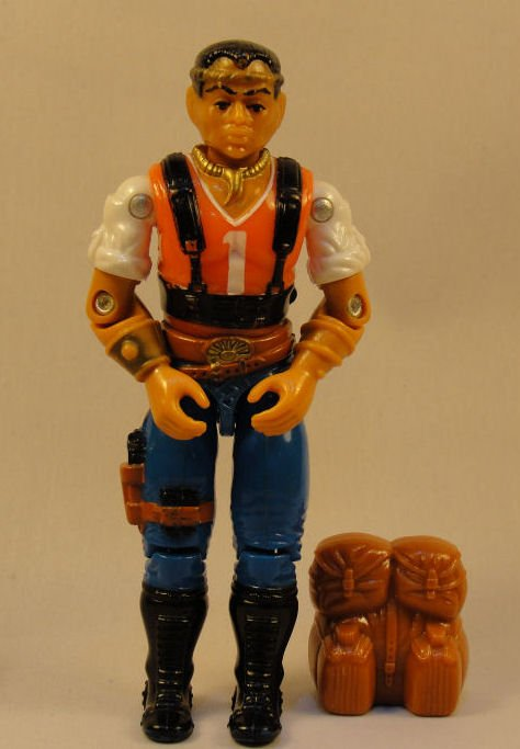 G.I. Joe - Red Dog - 1987 ARAH, Vintage Action Figure