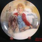 Annie Sandy Plate New Box COA Movie Musical Aileen Quinn Carol Burnett #s