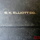 Drafting Set B K Elliott Co Complete Vemco Pasadena Leather 3 Leads Vintage #f