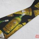 Neck Tie Cutty Sark Scots Whiskey Bottles 100% Silk Novelty Scotch #f